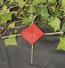 Traditional Rowan and Red Cord Charm For Protection - Pagan, Wiccan. Witchcraft
