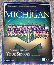 2011 Michigan Football Program vs Ohio State