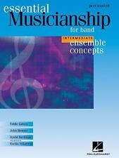 Essential Musicianship for Band - Ensemble Concepts: Intermediate Level - Percus