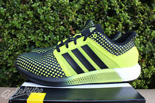 ADIDAS PERFORMANCE SOLAR BOOST MENS SZ 8.5 SEMI SOLAR YELLOW CORE BLACK S42060