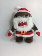 "Sugar Loaf Domo Santa Claus Christmas Holiday Collection 10"" Plush KELLYTOY"