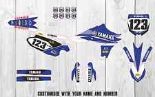 Yamaha YZF450 2010 2011 2012 Factory MX GRAPHICS KIT. Customisable Motocross