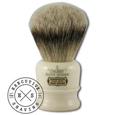 Simpsons Chubby 3 English Made Super Badger Hair Shaving Brush (CH3S)