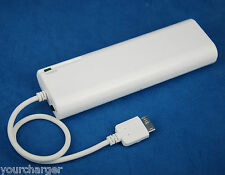 AA Battery Portable Emergency Backup Charger WHITE for Samsung Galaxy S5 SM-G900