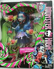 Mattel Monster High Sweet Screams - Ghoulia Yelps Doll And Access 6 Years Up NIB