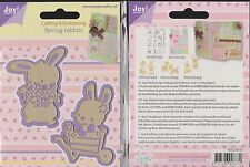 Joy Crafts die ~ ~ 6002/0436 printemps lapins