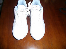 REEBOK SHOES WOMAN'S DMXMAX SIZE 11 WHITE/PALE BLUE TRIM