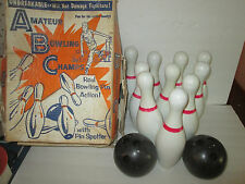 10 Pin Kids Bowling game COMPLETE With Box Nice, EMPIRE PLASTICS, VINTAGE