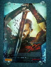 300 RISE OF AN EMPIRE Original 2000s Advance OS Movie Poster Eva Green