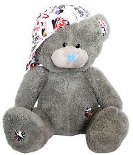 Wagner 9038 - XL Teddybär mit Kappe 48 cm gross Plüschbär Kuschelbär Plüsch