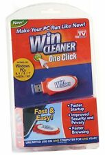 Win Cleaner USB As Seen on TV One Click PC Computer Clean Repair Protect NEW!