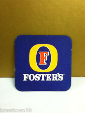 """Fosters  """"F"""" beer coaster bar coasters 1  import  imported drink drinking AT2"""