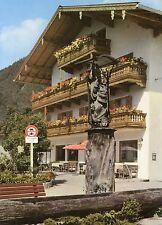 Alte Postkarte - Luftkurort Ruhpolding - Am Brunnen