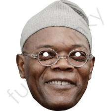 Samuel L Jackson Celebrity American Actor Card Mask - Made In The UK