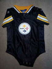 REEBOK Pittsburgh Steelers nfl BABY INFANT NEWBORN CREEPER Jersey 24M 24 Months
