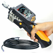 5M CABLE Endoscope Pipe Tube Borescope Inspection Waterproof Camera Zoom Rotate