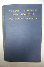 1921 GENERAL INTRODUCTION TO PSYCHOANALYSIS - Sigmund Freud*Sex*Libido