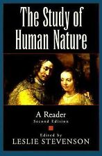 The Study of Human Nature : A Reader (1999, Paperback, Revised)