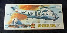 Airfix Sea King Helicopter SH-3D 1/72 Scale Aircraft Model Kit