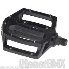 """Haro Fusion BMX pedals 9/16"""" BLACK for 3-piece cranks shimano dx style NEW 2016"""