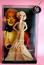 Marilyn Monroe Barbie Puppe Blonde Ambition 50th Anniversary Collector NEU NRFB