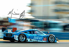 Marino FRANCHITTI Signed Autograph  Ford RILEY Sebring 12x8 Photo AFTAL COA