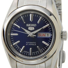 Seiko Navy Blue Dial Women's SYMK15J1 Seiko 5 Automatic Stainless Steel Watch