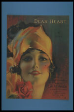 305018 Dear Heart Copyright 1919 A4 Photo Print