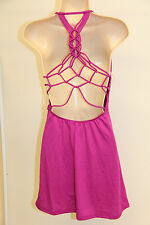NWT BECCA Bikini Swimwear Cover up dress Sz M Pads open back RAS