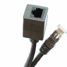 5m ETHERNET EXTENSION CABLE RJ45 CAT5E CAT5  MALE to FEMALE Network Cable