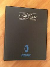 Star Trek The Original Series Mercury Phone Cards And Binder Kirk Spock McCoy