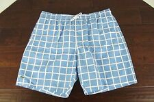 NEW $95 Lacoste Mens Swim Suit Trunks Board Shorts Size Large L NWT Blue 34