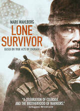 LONE SURVIVOR 2014 Action dvd AFGHANISTAN Navy Seals MARK WAHLBERG Eric Bana NEW