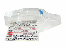 Team Associated RC8B3 Nitro Buggy 1/8 Clear Lexan Body Wing & Decal Sheet