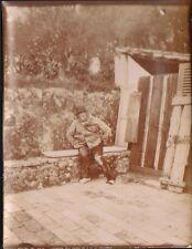 PHOTO VINTAGE VIEUX MENDIANT OLD BEGGAR