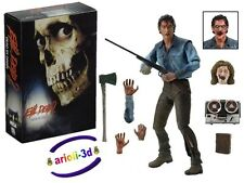 EVIL DEAD 2 DEAD BY DAWN BY NECA REEL TOYS SCALE ACTION FIGURE NEW ULTIMATE ASH