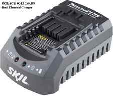 NEW SKIL SC118C-LI 2.6 AH Dual Chemical Li-Ion NiCd 18-Volt 1 Hr Battery Charger
