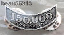 HARLEY OWNERS GROUP HOG H.O.G. 150,000 MILEAGE MILE VEST JACKET HAT PIN