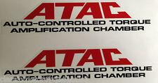 """HONDA NS400 NS400R """"ATAC"""" SEAT UNIT DECALS"""