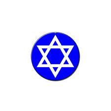 Star Of David - Jewish - Metal Lapel Hat Pin Tie Tack Pinback