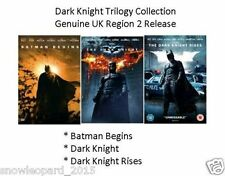 Dark Knight Trilogy 1-3 DVD Set Batman Begins Dark Knight Rises Brand New UK