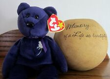 PRINCESS Ty Beanie Baby 5th Ed Mint b4 stamped numbers were started VIEW PHOTOS