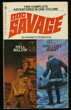 Doc Savage: Double 99/100 Hell Below / The Lost Giant Paperback 1st Thus