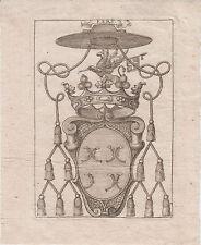 § EX-LIBRIS HÉRALDIQUE 18e de BELLIS de ROAIX - AVIGNON (VAUCLUSE) §