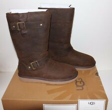 UGG AUSTRALIA  SUTTER 1005374 TOAST BROWN WOMEN,S BOOTS WATERPROOF LEATHER USA 9