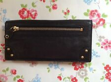 ⭐️MiMCO Panelled Pocket⭐️Leather Purse Wallet Bag⭐️Black