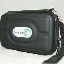 For SeaGate FreeAgent GO 500GB Hard Drive hard carrying Case Pouch Bag free Gift
