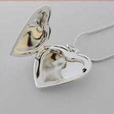 Jewelry Friend Chain Necklace Pendant Heart Shaped Photo Picture Locket