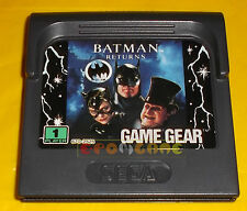 BATMAN RETURNS Sega Game Gear Return ○○○○○ SOLO CARTUCCIA