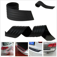 35.8 inch Black Rear Rubber Bumper Protector Trim Cover for Peugeot Fiat Peugeot